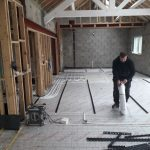Recent Underground Heating Installation...Some Photos of the Process